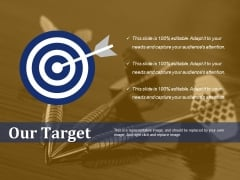 Our Target Ppt PowerPoint Presentation Professional Example