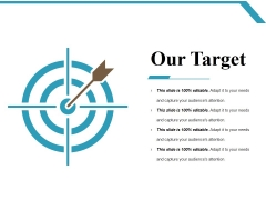 Our Target Ppt PowerPoint Presentation Professional Styles