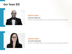 Our Team Account Ppt PowerPoint Presentation Layouts Backgrounds