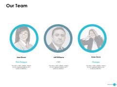 Our Team And Communication Ppt PowerPoint Presentation Portfolio Background Designs