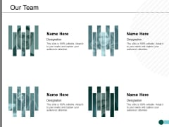 Our Team Communication Management Ppt PowerPoint Presentation Icon Show