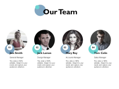 Our Team Communication Management Ppt PowerPoint Presentation Layouts Outline