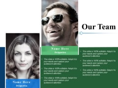 Our Team Communication Management Ppt PowerPoint Presentation Pictures Example Introduction