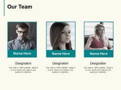 Our Team Communication Management Ppt PowerPoint Presentation Pictures Topics