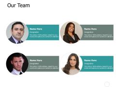 Our Team Communication Management Ppt PowerPoint Presentation Show Slide