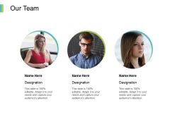 Our Team Communication Planning Ppt PowerPoint Presentation Infographics Portfolio