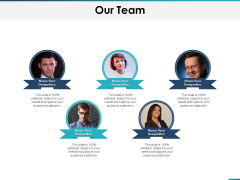 Our Team Communication Planning Ppt PowerPoint Presentation Outline Background