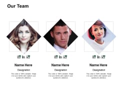 Our Team Communication Ppt PowerPoint Presentation Gallery Deck