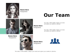 Our Team Communication Ppt PowerPoint Presentation Gallery Model