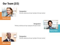 Our Team Communication Ppt PowerPoint Presentation Ideas Deck