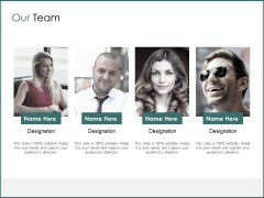 Our Team Communication Ppt PowerPoint Presentation Inspiration Grid