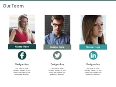 Our Team Communication Ppt PowerPoint Presentation Layouts Elements