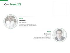 Our Team Communication Ppt PowerPoint Presentation Model Elements