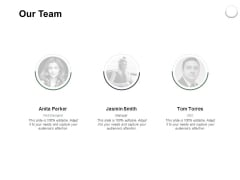 Our Team Communication Ppt PowerPoint Presentation Model Grid