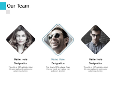 Our Team Communication Ppt PowerPoint Presentation Outline Deck