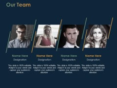 Our Team Communication Ppt PowerPoint Presentation Pictures Samples