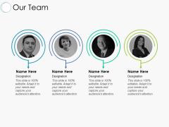 Our Team Communication Ppt PowerPoint Presentation Portfolio Deck