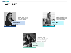 Our Team Communication Ppt PowerPoint Presentation Portfolio Model