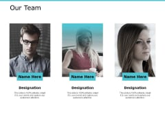 Our Team Communication Ppt PowerPoint Presentation Professional Introduction