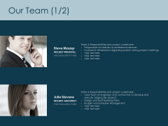 Our Team Communication Ppt PowerPoint Presentation Styles Examples