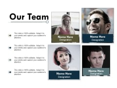 Our Team Communication Ppt PowerPoint Presentation Styles Portrait