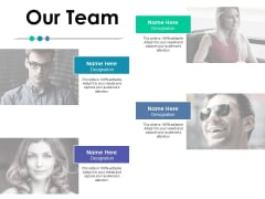 Our Team Communication Ppt PowerPoint Presentation Styles Samples