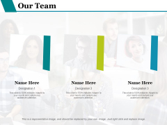 Our Team Communication Ppt PowerPoint Presentation Styles Slides