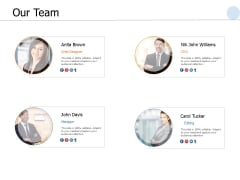 Our Team Communication Ppt PowerPoint Presentation Styles Slideshow