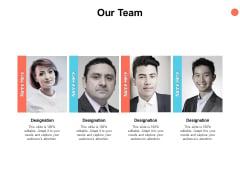Our Team Communication Teamwork Ppt PowerPoint Presentation Icon Grid