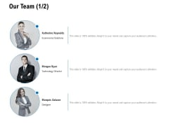 Our Team Designation Ppt PowerPoint Presentation Gallery