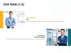 Our Team Designation Ppt PowerPoint Presentation Summary Background Designs