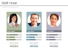 Our Team For Market Leadership Powerpoint Slides
