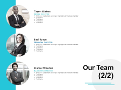 Our Team Introduction Planning Ppt PowerPoint Presentation Infographic Template Format