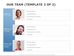Our Team Introduction Ppt PowerPoint Presentation Gallery Design Templates