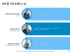 Our Team Introduction Ppt PowerPoint Presentation Icon Styles