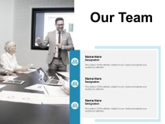 Our Team Introduction Ppt PowerPoint Presentation Ideas Diagrams
