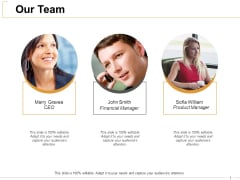 Our Team Introduction Ppt PowerPoint Presentation Ideas Format Ideas