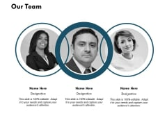 Our Team Introduction Ppt PowerPoint Presentation Ideas Graphics Example
