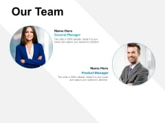 Our Team Introduction Ppt PowerPoint Presentation Infographic Template Design Templates