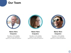 Our Team Introduction Ppt PowerPoint Presentation Inspiration Graphics Design