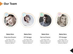 Our Team Introduction Ppt PowerPoint Presentation Layouts Backgrounds
