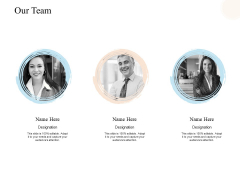Our Team Introduction Ppt PowerPoint Presentation Model Show
