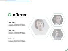 Our Team Introduction Ppt PowerPoint Presentation Model Structure