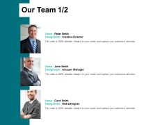 Our Team Introduction Ppt PowerPoint Presentation Outline Templates