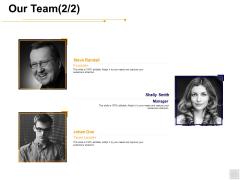Our Team Introduction Ppt PowerPoint Presentation Portfolio Grid