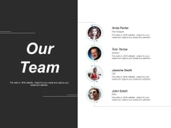 Our Team Introduction Ppt PowerPoint Presentation Professional Clipart