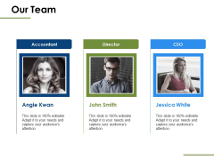 Our Team Introduction Ppt PowerPoint Presentation Professional Icons