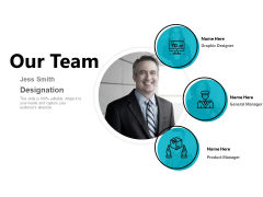 Our Team Introduction Ppt PowerPoint Presentation Show Slides