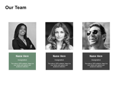 Our Team Introduction Ppt PowerPoint Presentation Slides Designs