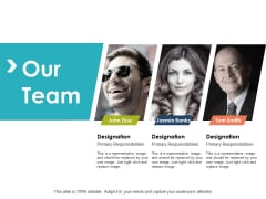 Our Team Introduction Ppt PowerPoint Presentation Slides Picture
